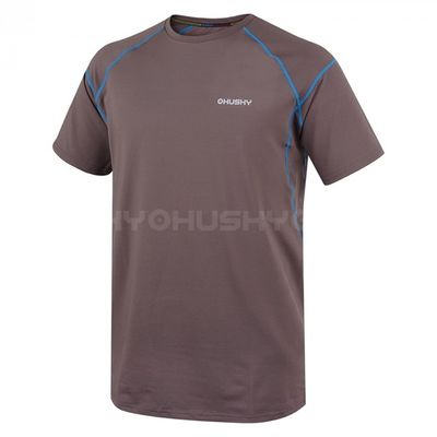 Husky Pánske tričko Volper hnedá