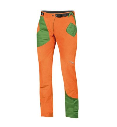 Nohavice Directalpine Karma - orange/green