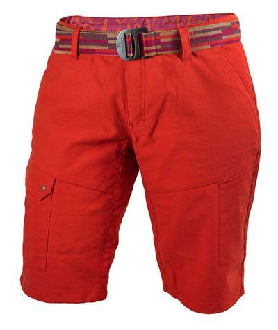 Krátke nohavice Warmpeace Lapina lady - red