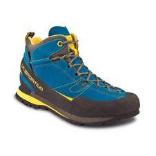 Turistická obuv La Sportiva Boulder X Mid GTX - blue yellow 178cbc3a669