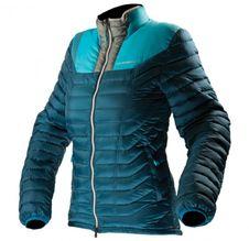 Páperová bunda La Sportiva Kira Down Jacket W - fjord