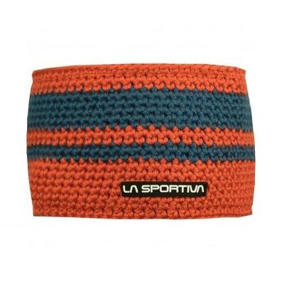 La Sportiva Zephyr Headband - flame/dark sea