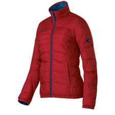 Bunda Mammut Blackfin Jacket Woman - dark cyan/carmine