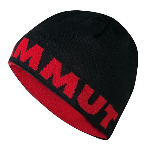 Mammut Logo Beanie - black/inferno