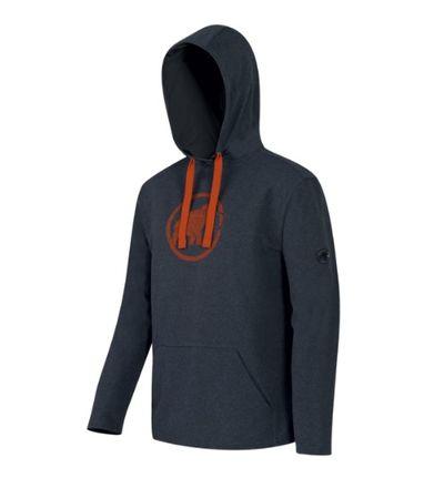 Mammut Logo ML Hoody Men - graphite/dark orange