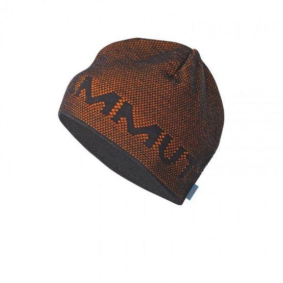 Mammut Stollen Beanie - black/orange