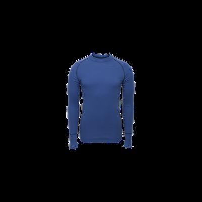Merino BRYNJE Arctic Double Shirt so sieťovinou - modré