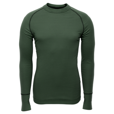 Merino BRYNJE Arctic Double Shirt so sieťovinou - zelené