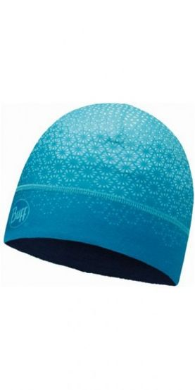 Microfiber 1 layer hat buff - hak turquoise