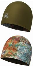 Buff Microfiber 2 layer hat - intinerary multi/beech multi