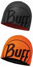 Microfiber 2 layer hat buff - logo graphite/orange graphite