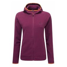 Mikina Mountain Equipment Women´s Diablo Hooded Jacket - cranberry
