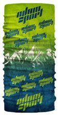 Multifunkčná šatka Adam Sport - zelená/modrá