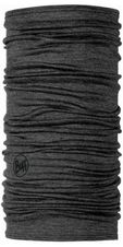 Multifunkčná šatka Buff Wool Leightweight 100202 - solid grey
