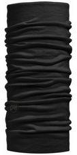 Multifunkčná šatka Buff Wool Lightweight 100637 - solid black