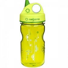 Nalgene Grip´n Gulp Kids 0.35L - Green Cars