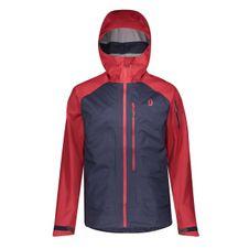 Nepremokavá bunda Scott Explorair 3L Jacket - wine red/blue nights