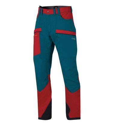 Nohavice Directalpine Defender modrá/červená