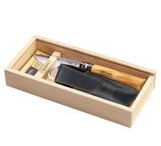 Opinel VR N°08 Inox Olive darčekové balenie