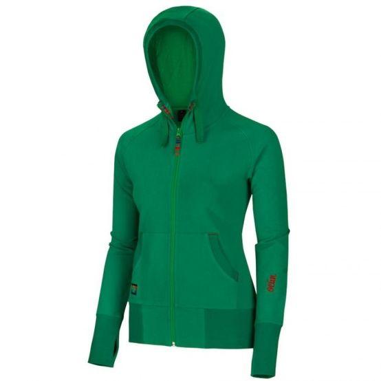 Ocún Corso Hoodie Women - zelená