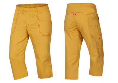 Krátke nohavice Ocún Jaws pants 3/4 - Golden yellow