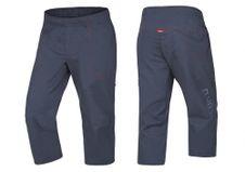 Krátke nohavice Ocún Jaws pants 3/4 - Slate blue