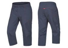 Krátke nohavice Ocun Jaws pants 3/4 Slate blue
