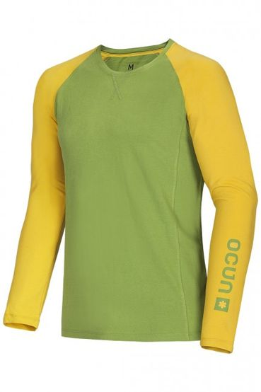 Tričko Ocun Kikko LONG SLEEVE men - Pond green