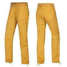 Nohavice Ocun PANTERA PANTS women - Golden yellow