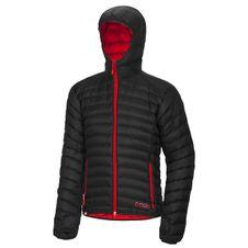 Ocún Tsunami Down Jacket Men - Black/Red