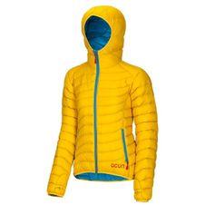 Ocún Tsunami Down Jacket Women - Yellow/Blue
