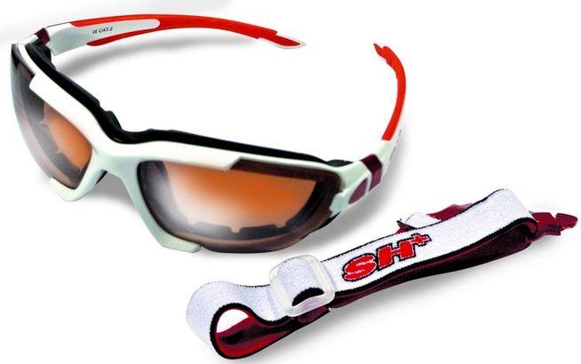 Okuliare SH+ RG 4001 white / red