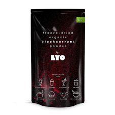 Organický prášok LyoFood Čierne ríbezle v prášku