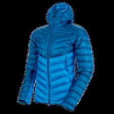 Páperová bunda Mammut Broad Peak IN Hooded Jacket - imperial/ultramarine