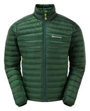 Páperová bunda Montane Featherlite Down Micro Jacket - arbor green