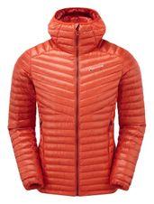 Páperová bunda Montane Future Lite Hoodie - firefly orange