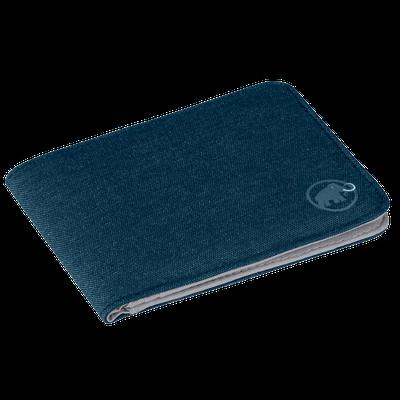 Peňaženka Mammut Flap Wallet Mélange - dark chill
