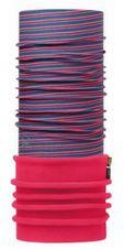 Polar Buff - pink fluor stripes