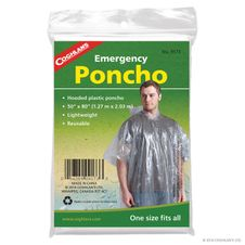 Poncho Coghlans Emergency Poncho