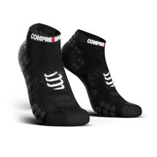 Ponožky Compressport Pro Racing Socks V3.0 Run Low - black
