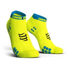 Ponožky Compressport Pro Racing Socks V3.0 Run Low - fluo yellow