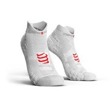 Ponožky Compressport Run Low V3.0 - white