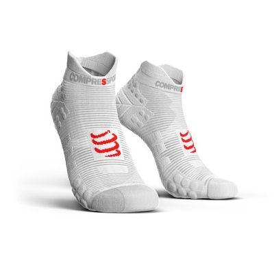 Ponožky Compressport Run Low V3.0 - white