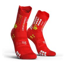 Ponožky Compressport Trail Hi V3.0 - red