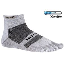 Ponožky Injinji Run Light Weight Mini - Grey