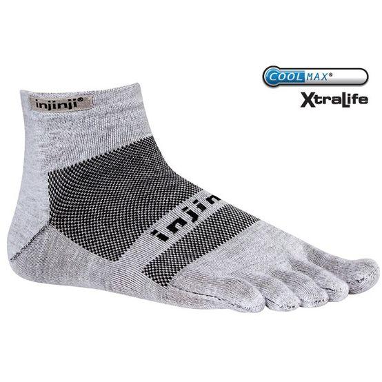Ponožky Injinji Run Light Weight Mini - Grey