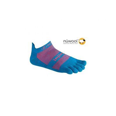 Ponožky Injinji Run NuWool - Turquoise