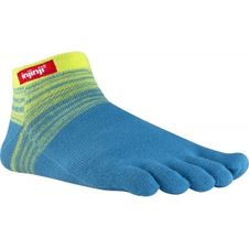 Ponožky Injinji Sport Original Weight Micro - Neon Yellow/Aqua