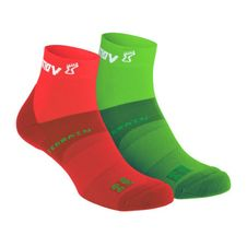 Ponožky Inov-8 All Terrain Sock Mid - green/red