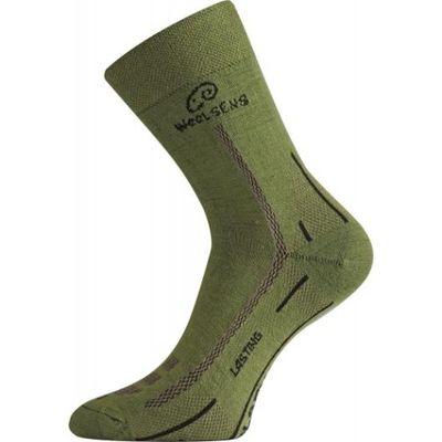 Ponožky Lasting WLS - zelené